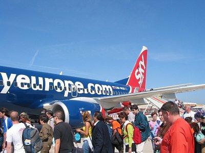 Se Skyeurope může vyjít letenka velmi levně