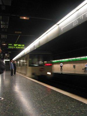 Barcelonské metro