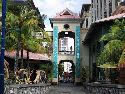 Nákupní komplex Le Caudan Waterfront