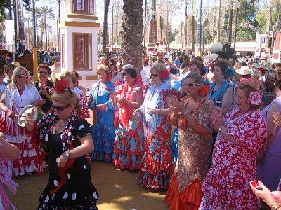 Ženy při Ferii del Caballo