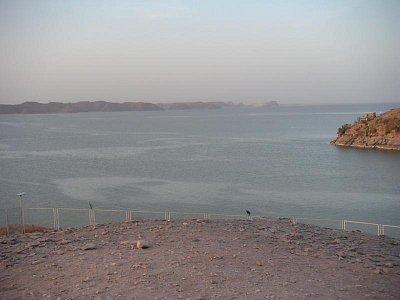 Násirovo jezero z pohledu od chrámu Ramesse II (nahrál: admin)