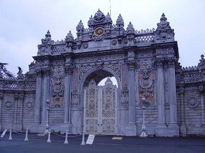 Palác Dolmabahce (nahrál: buffalka)