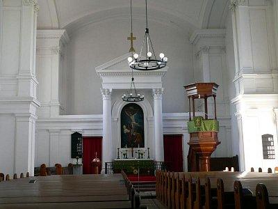 interiér kostela varhaního recitálu (nahrál: admin)