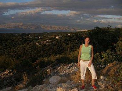 Corfu 2007 - Na výletě v horách-za mořem je vidět Albánie (nahrál: Jana Náplavová  )