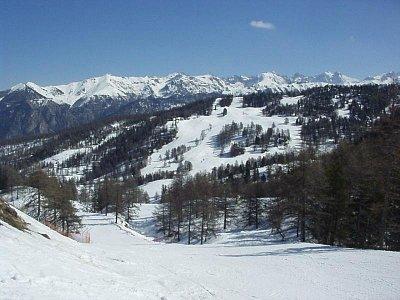 zasněžené Alpy (nahrál: admin)