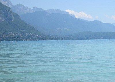 Jezero v Annecy (nahrál: admin)