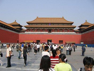 Peking - vstup do Zakázaného města (nahrál: admin)