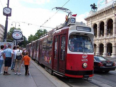 Tramvaj linky D (nahrál: admin)