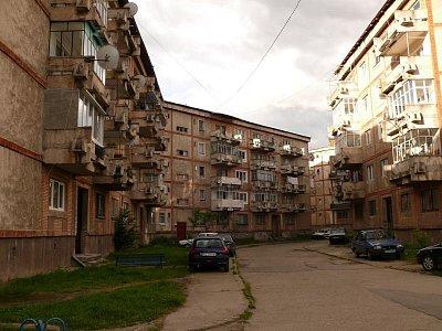 Paneláky v Uricani (nahrál: admin)