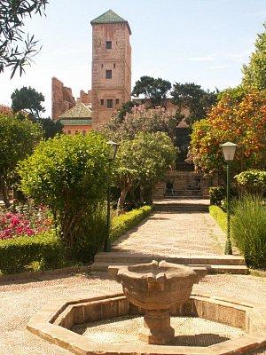 Palácové muzeum obklopené Andaluskými zahradami - Muzeum umění se nachází v pevnosti Oudaias a je obklopeno Andaluskými zahradami. (nahrál: Petr Kubík)