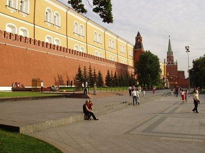 kremelská věž u Alexandrovskoho sadu (nahrál: Kamil Hainc)