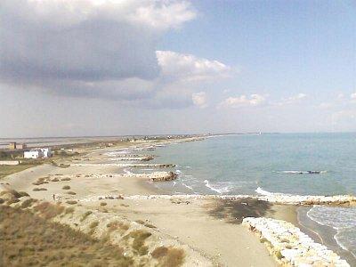 Pláže směrem Zapponeta