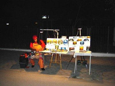 umělec na ulici (nahrál: Aranka)