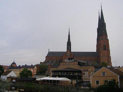 Pohled na Upsalu na kostel (nahrál: josef Vágner)