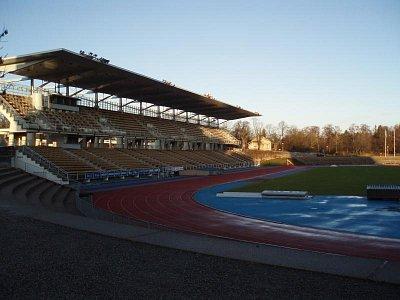 Atletický stadion v Turku (nahrál: Jiří Birner)