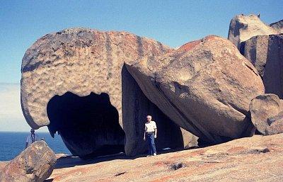 Remarkable Rocks - Toto vše vydlabala voda a vítr (nahrál: Luboš)
