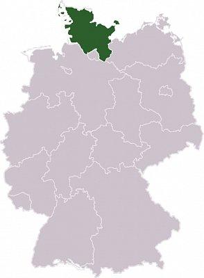 Šlesvicko-Holštýnsko - Šlesvicko-Holštýnsko Zdroj: wikipedia.org (nahrál: admin)