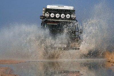 cestování po Namíbii nejlépe umožní půjčené auto. (nahrál: Martina Svobodova)