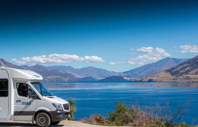 Jaké je to procestovat Nový Zéland v obytném voze?