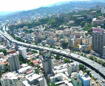 Caracas -hlavní město Venezuely
