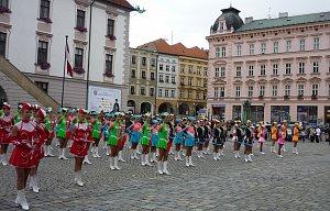 Olomouc - mažoretky
